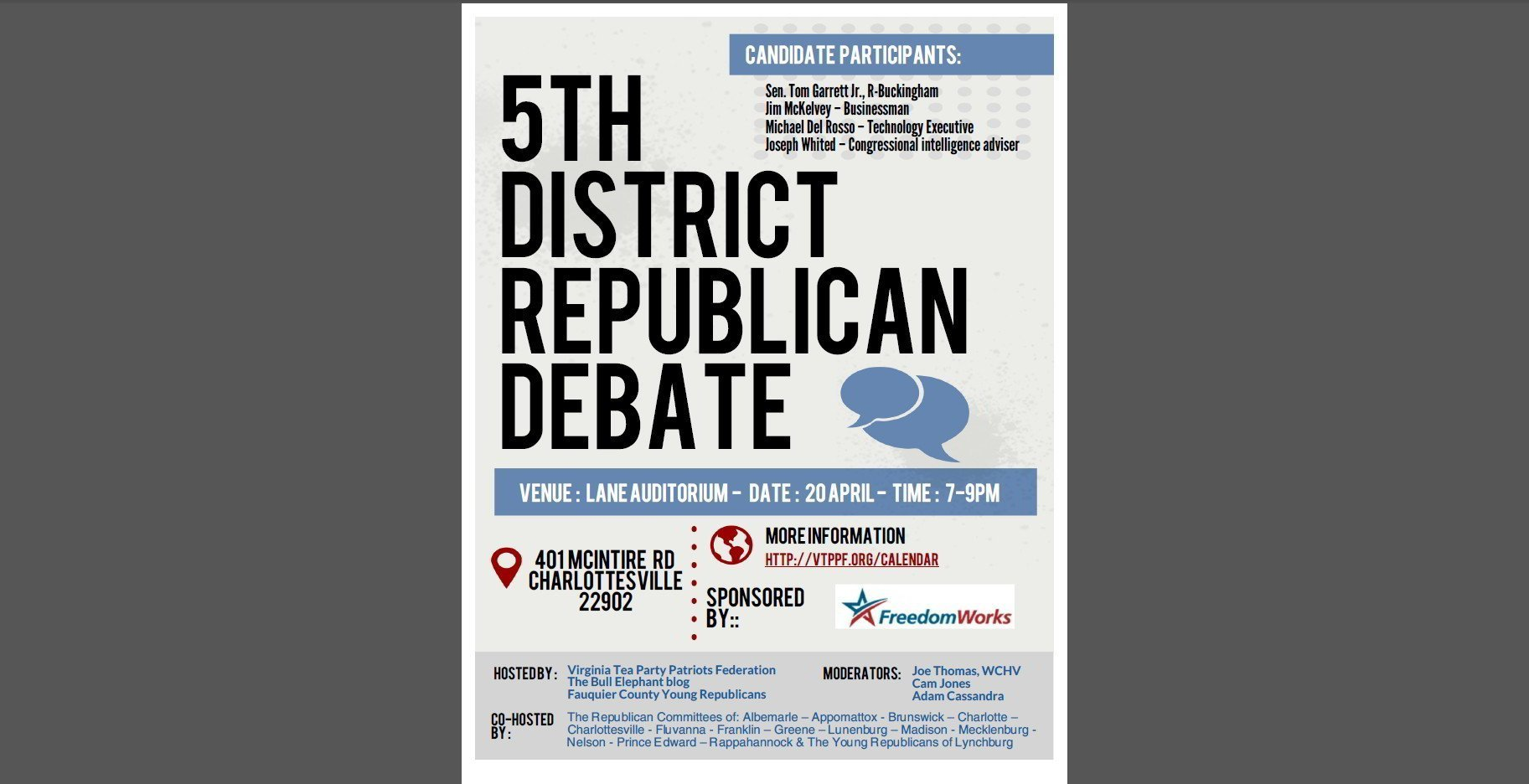 Debate Flyer pic