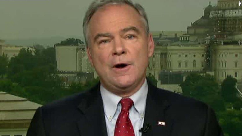Tim Kaine TV Screen Grab