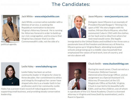 VATP Live Streaming Event: VA Attorney General Candidate Forum